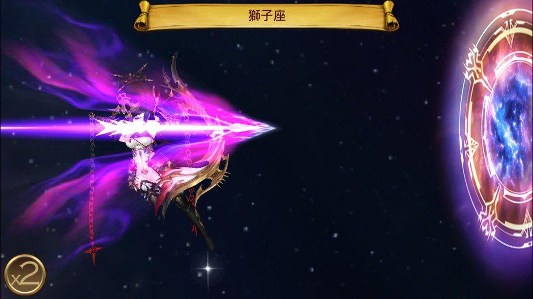 琦莉愛技能「獅子座」能對全體的軍造成魔法傷害。
