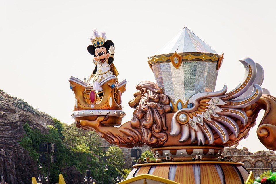 迪士尼樂園。圖/擷自pixabay