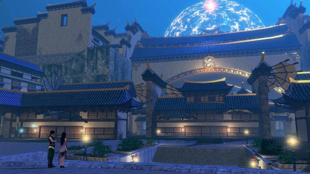 神秘國度華胥,隨著劇情推進,玩家能了解天門關閉時發生的故事。 圖/大宇資訊提供