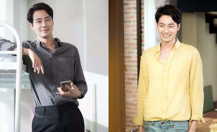 韓星趙寅成在韓劇裡常以襯衫做角色搭配。圖/擷自instagram