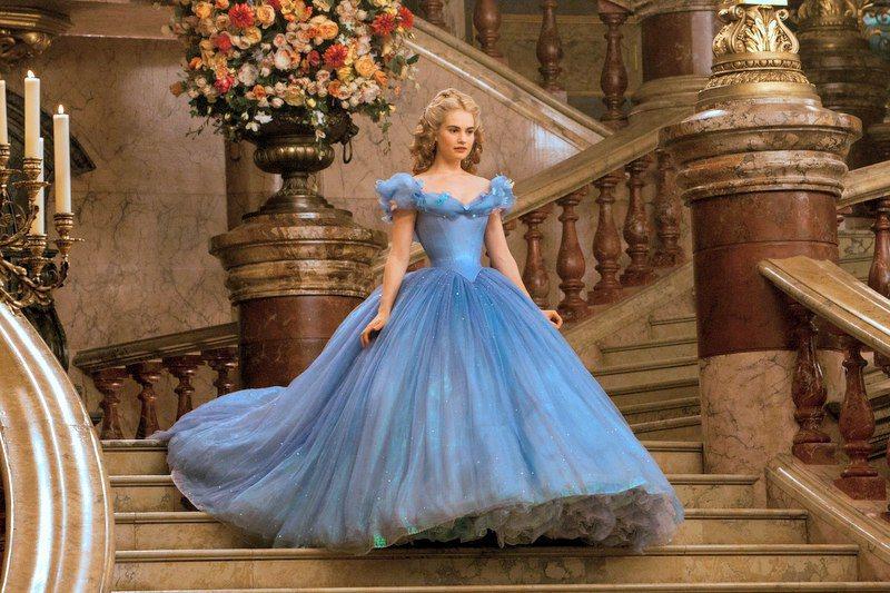 「仙履奇緣」重現「灰姑娘」童話中的盛大舞會。圖/迪士尼提供