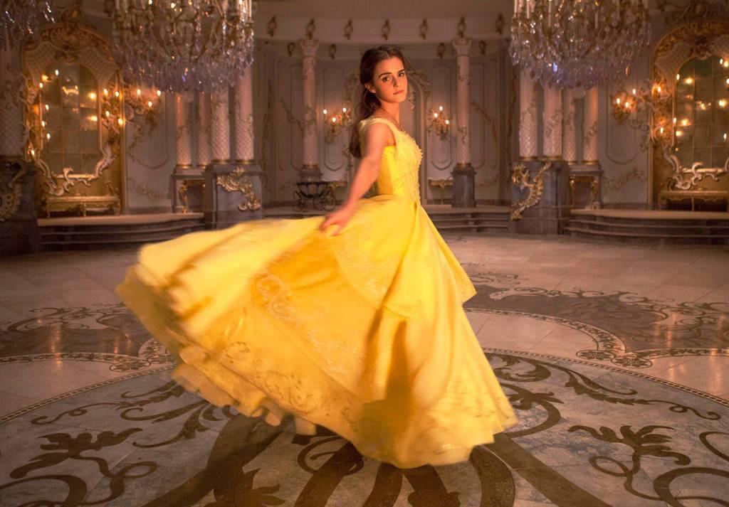 艾瑪華森認為「美女與野獸」的女主角充滿勇氣。圖/迪士尼提供