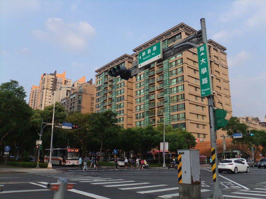 北大特區是退休族熱門購屋區。記者游智文/攝影