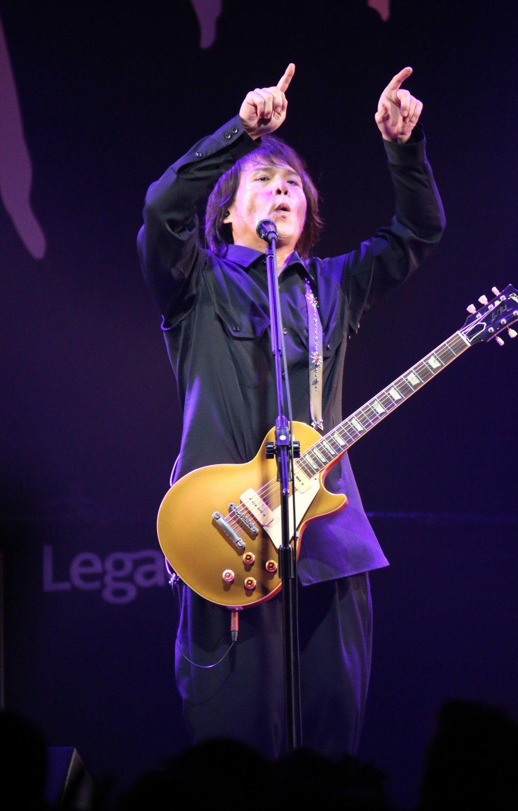 伍佰 & China Blue「今夜伍佰8」台北場在Legacy Taipei開...