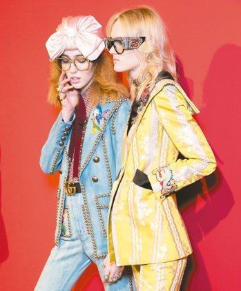 現在的Gucci不只是網路熱議的品牌之一,財報數字也節節攀升。 圖/Gucci提...