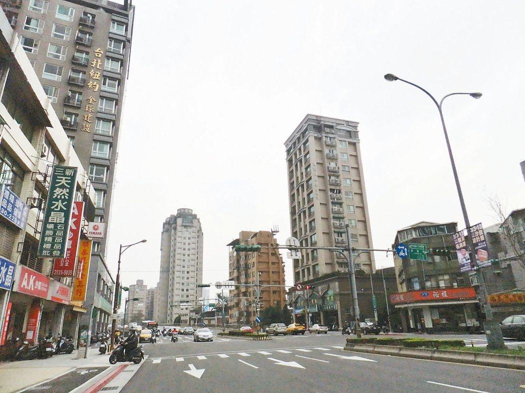 文山區平均一坪43.7萬。 記者游智文/攝影