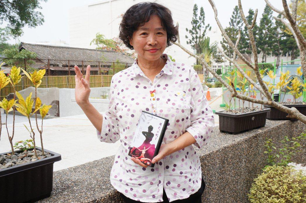 70歲陳惠蘭的故事被拍成紀錄片「鏡前的戲子」。記者林伯驊/攝影