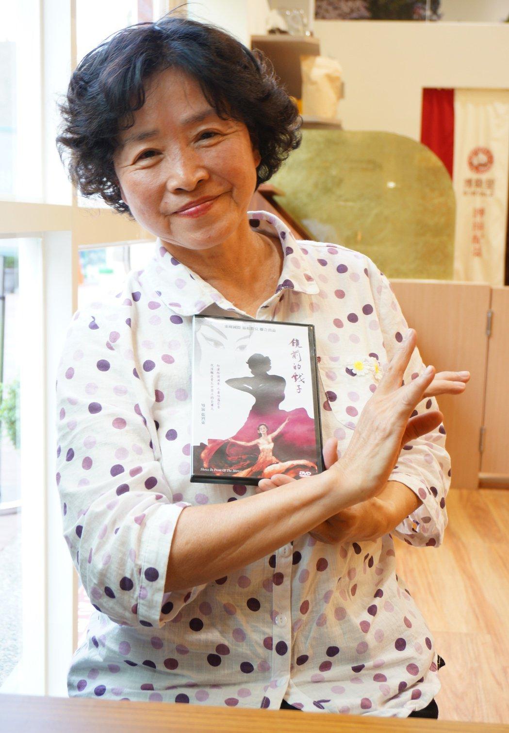 陳惠蘭坦然面對老公外遇,也拍入紀錄片。記者林伯驊/攝影