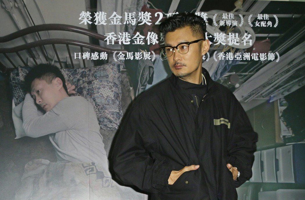 余文樂在新片「一念無明」中扮演躁鬱症患者,精彩的演出使得他在出道16年後第一次入