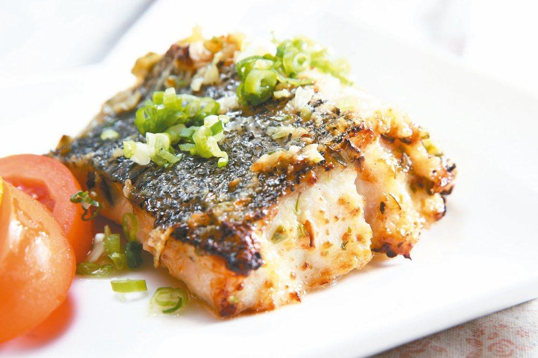 鹽麴蔥香薑味烤魚 記者蘇健忠/攝影