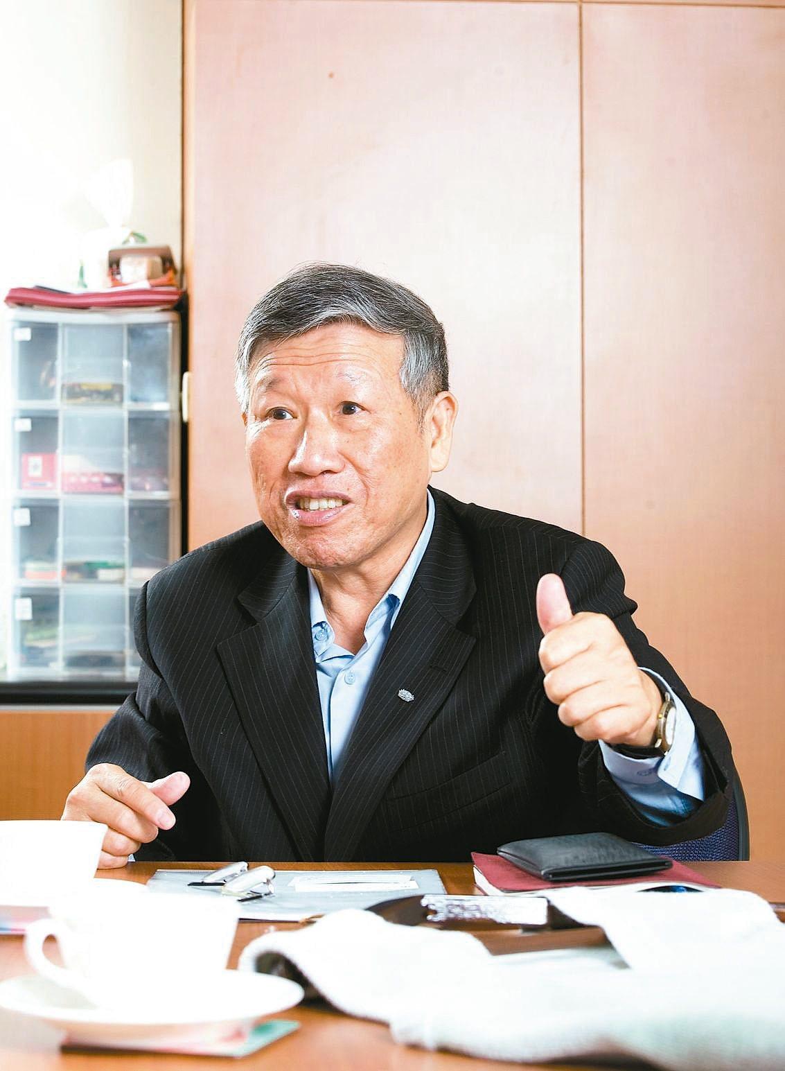 台灣產業用紡織協會理事長羅忠祐。 圖/產紡協會提供