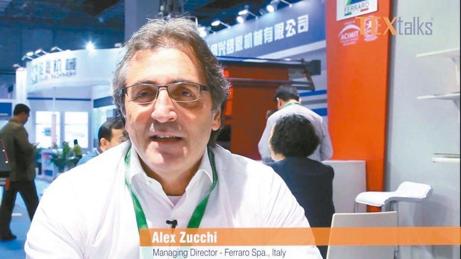 義大利紡織機械聯合會副會長Alex Zucchi。 圖/產紡協會提供