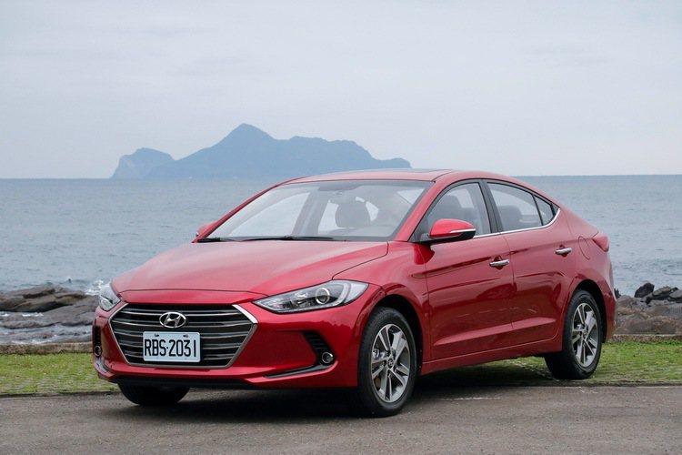 現行Hyundai Elantra。 記者史榮恩/攝影