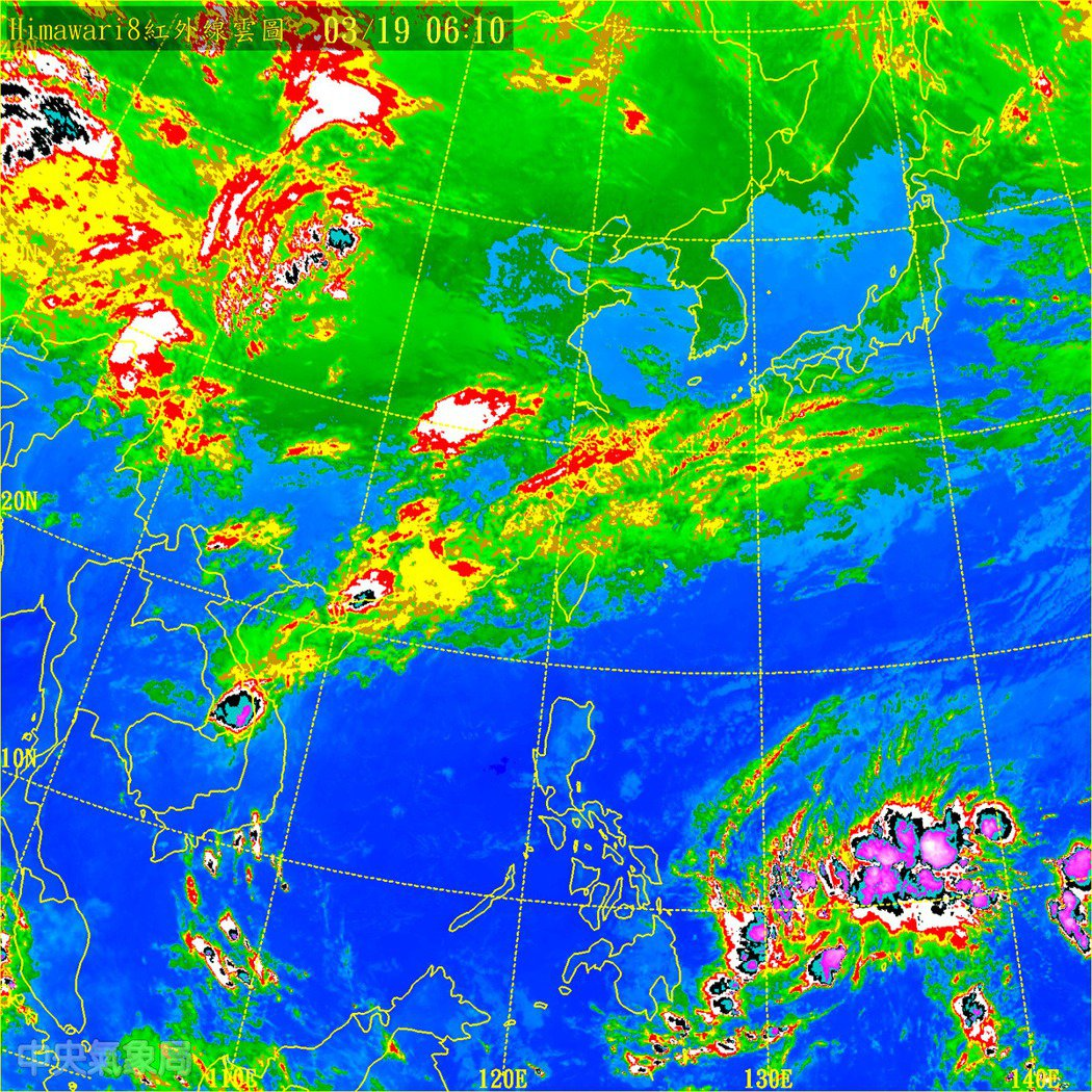 華南雲系正在東移,結構不算厚實。儘管層狀雲降雨,雨勢並不會很大,但仍會帶來大範圍...