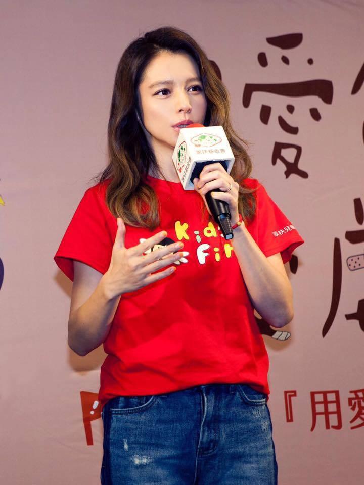 徐若瑄。圖/摘自臉書