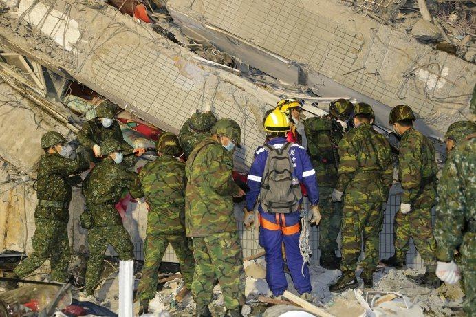 陳鷹說,台灣軍隊救災能力優秀,應變能力強,在世界排名前3名以上,值得美軍學習。圖...