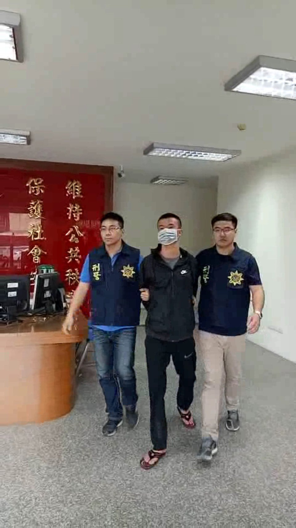 屏東市河濱公園槍擊命案,屏警會同刑事局已逮獲九名嫌犯。圖/讀者提供