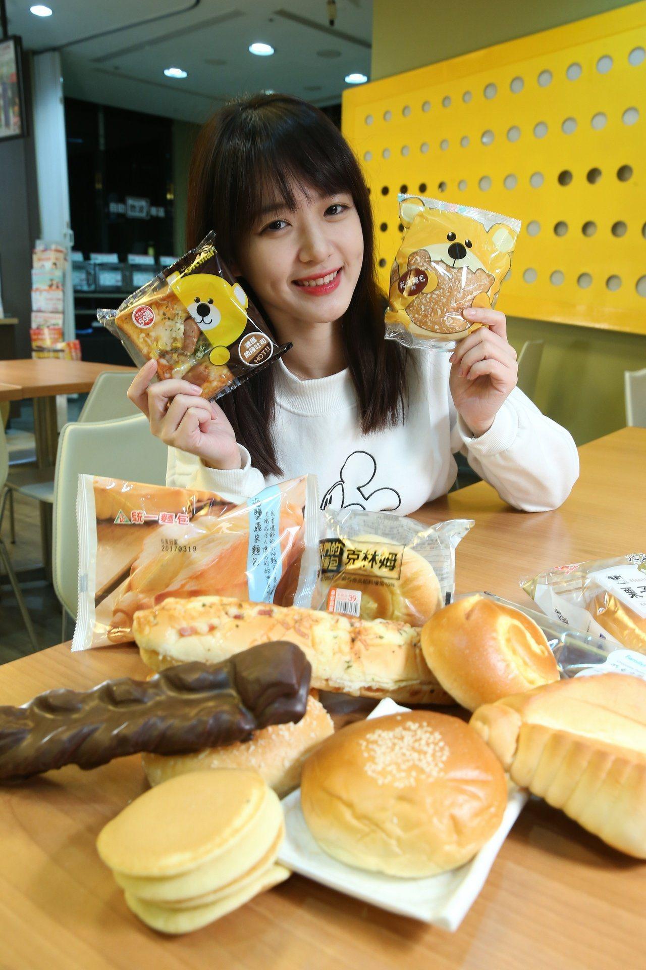 PTT網友推薦最強超商麵包,引來熱烈討論。記者陳立凱/攝影