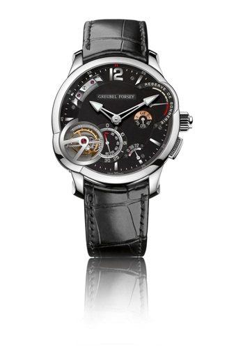Greubel Forsey大自鳴腕表,約4,200萬元。圖/Greubel F...