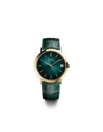 伯爵Altiplanp 60周年紀念款腕表,限量260只,約85萬元。圖/Pia...