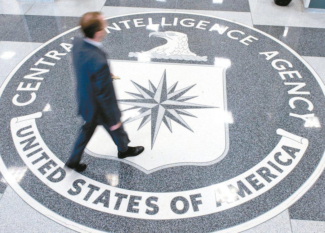 美國中情局蘭利總部大廳。維基解密公布美國中央情報局(CIA)2012年至2016...