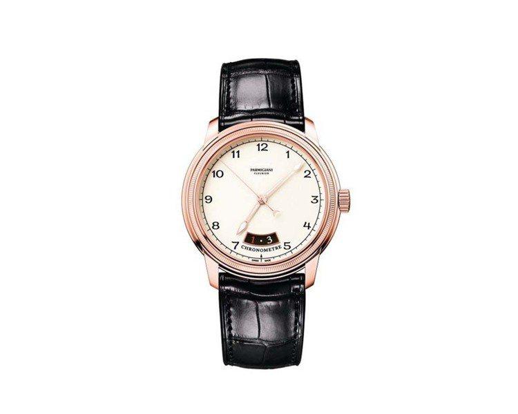 帕瑪強尼Toric Chronometre計時表,約57萬3,000元。圖/Pa...