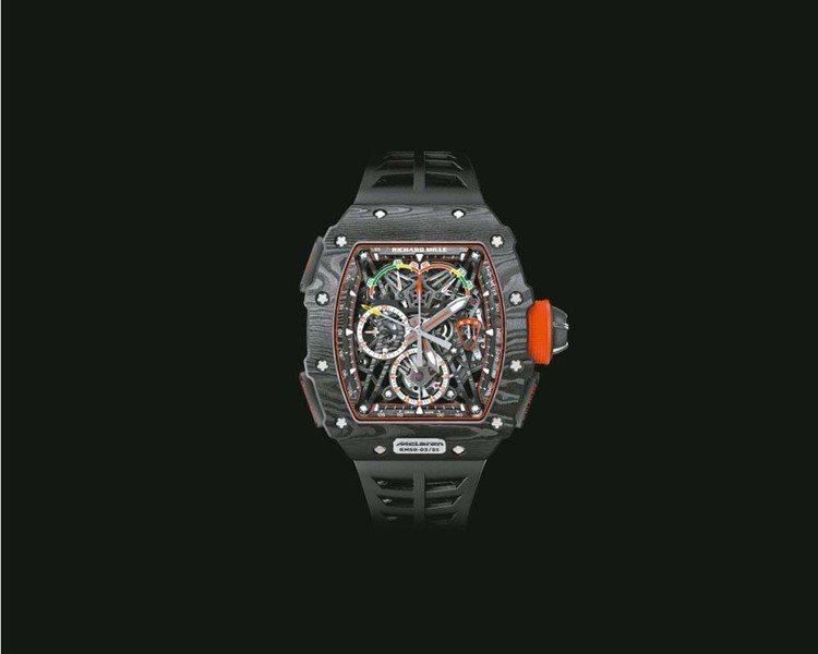 Richard Mille RM 50-03 McLaren F1雙秒追針陀飛輪...