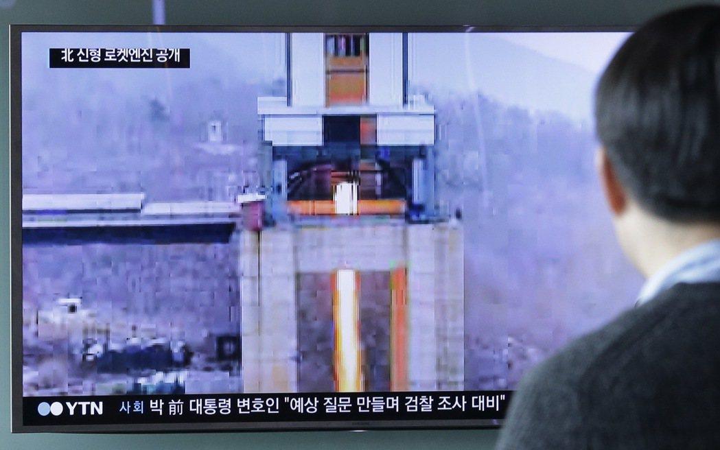 正值美國國務卿提勒森在中國訪問之際,北韓再次公然挑釁,19日高調宣布前一天成功測...