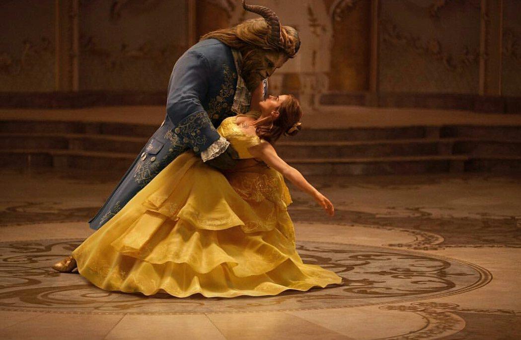 迪士尼電影「美女與野獸」衝出歷年來首映週末第7高票房。圖/摘自imdb