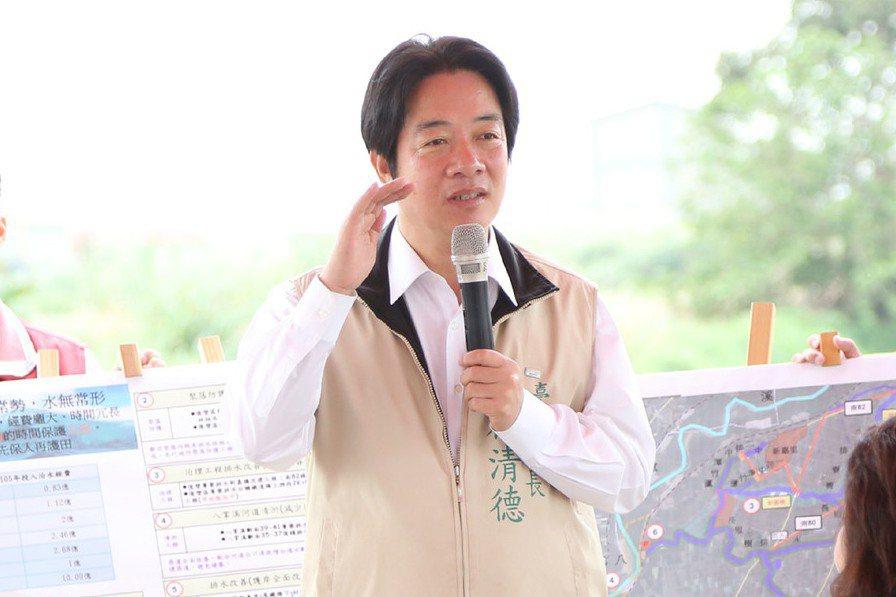 台南市長賴清德。 圖/中央社