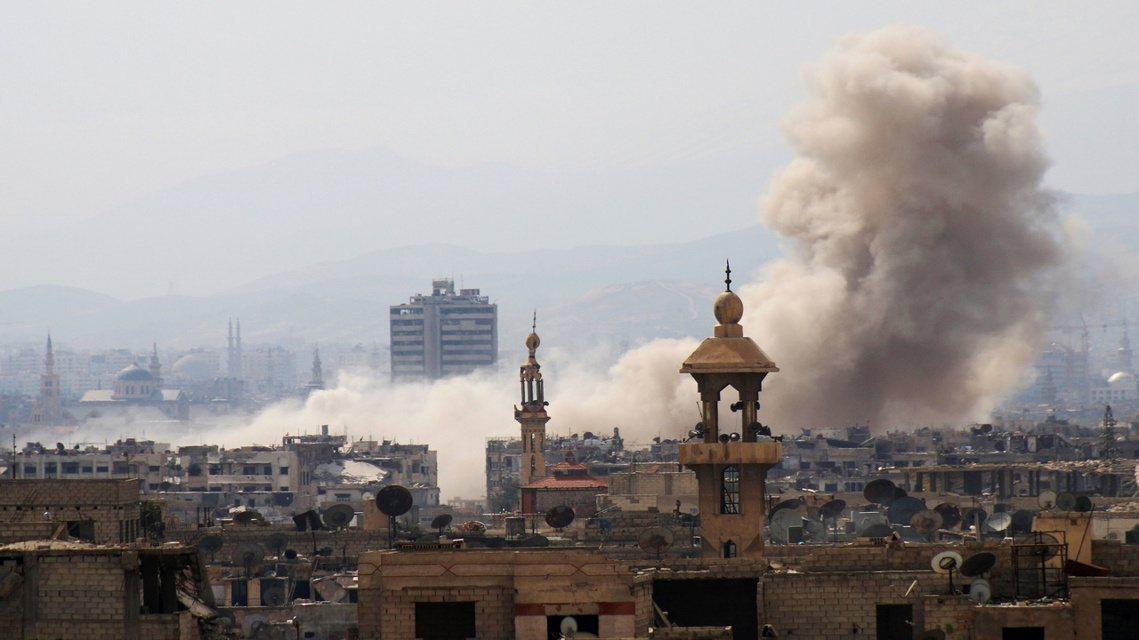 突襲大馬士革,敘利亞反抗軍的殊死猛攻 圖/法新社