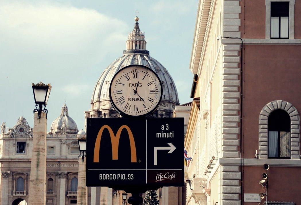 「在這裡,你可以透過歷史關注未來。」麥當勞創造另一個頗為有趣、且具參考價值的案例...