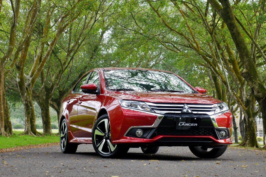 中華三菱全新房車Grand Lancer。 記者陳威任/攝影