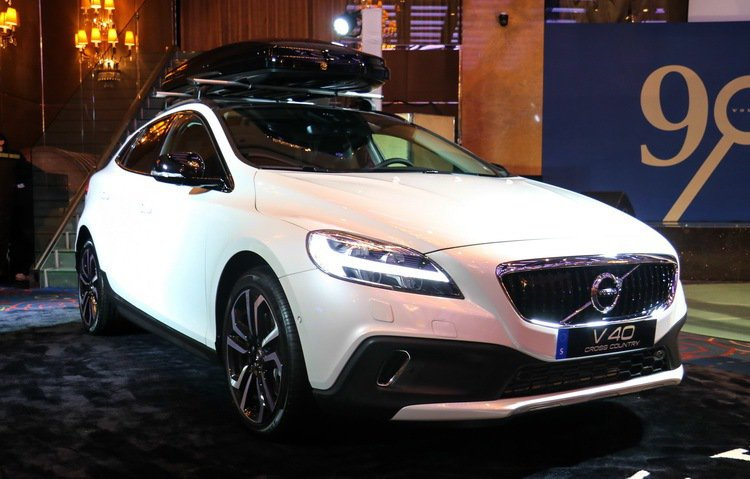 Volvo V40 Cross Country T4 AWD。 記者史榮恩/攝影