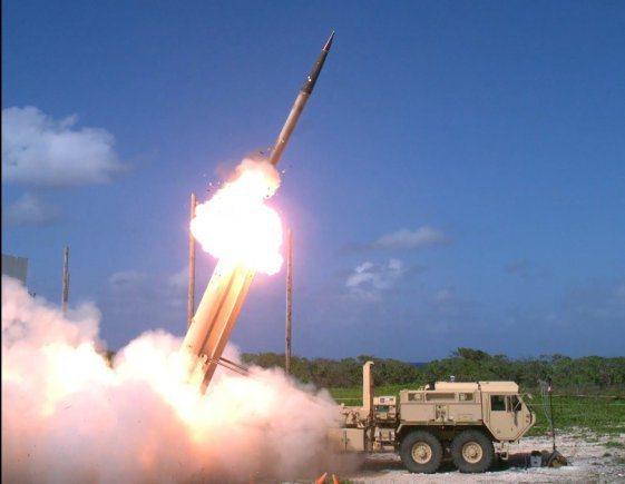 THAAD飛彈發射。圖/美國陸軍檔案照