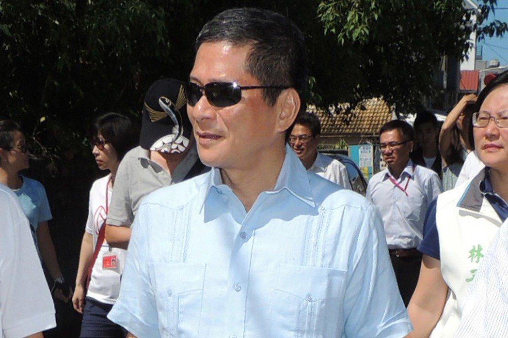 客委會主委李永得拒絕警察盤查,引發熱議。聯合報系資料照