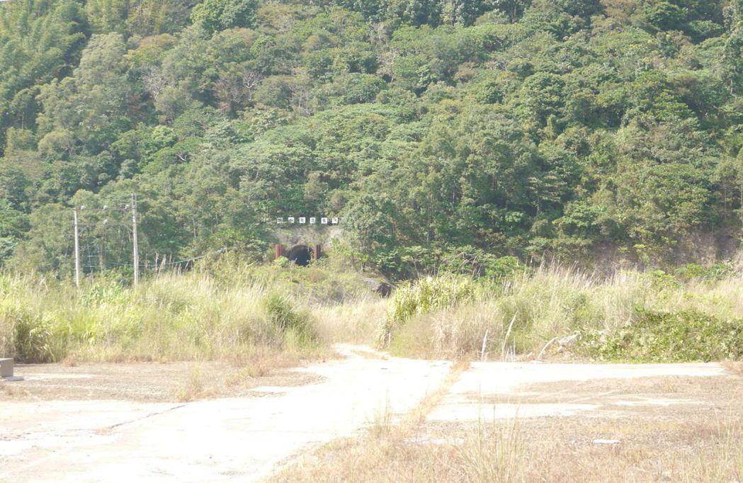 曾文水庫越域引水的西隧道位於高雄那瑪夏區,八八風災後廢棄未用。圖/本報資料照