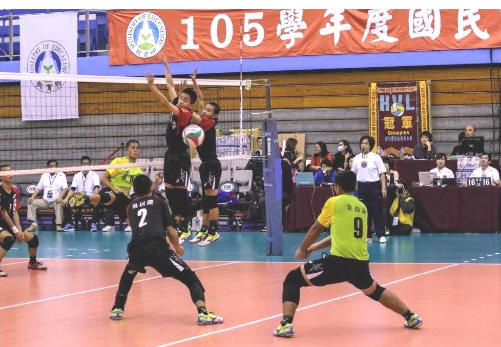 台南六甲國中排球隊參加全國國中甲級排聯賽,首度奪下第4名。圖╱六甲國中提供