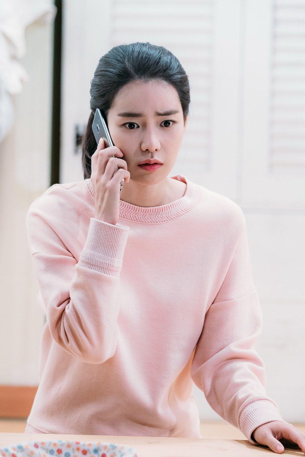 韓女星林智妍演出「吹吧!微風」十分清純自然。圖/八大提供