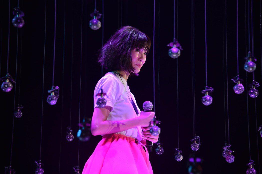 郭美美赴港宣傳新專輯。香港亞洲流行音樂節提供