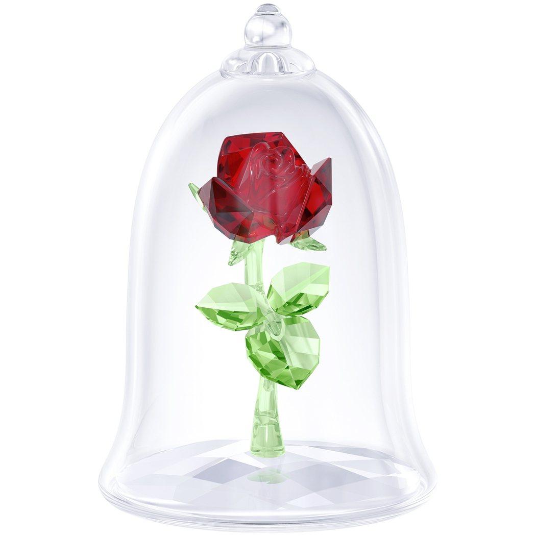 迷人玫瑰,5,300元。圖/施華洛世奇提供