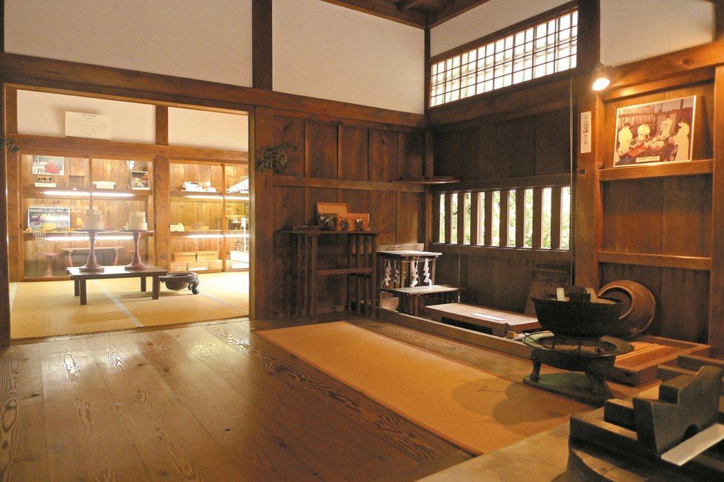 下鴨神社大炊殿可看到遠古代神饌的復刻版。 照片提供/曾郁雯
