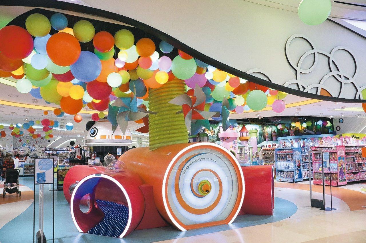 Starfield購物中心兒童遊戲區。 記者史榮恩/攝影