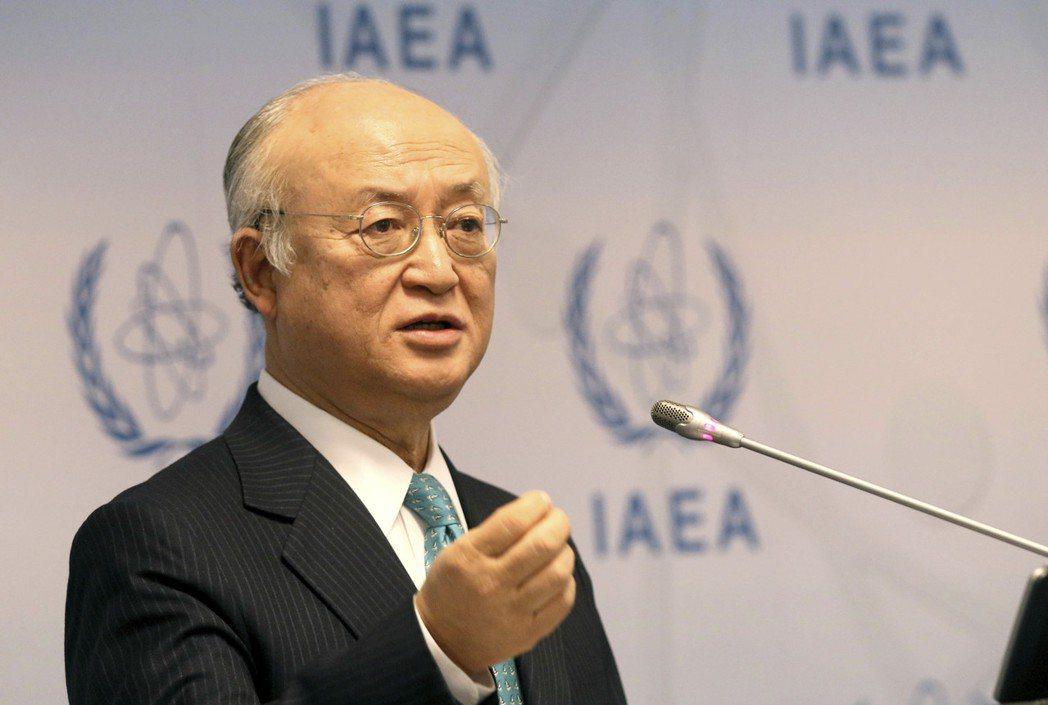 國際原子能總署(IAEA)署長天野之彌。美聯社
