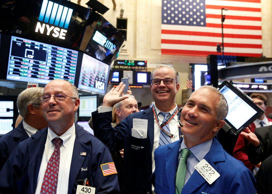 美股後市看漲,以健康護理產業最具備成長潛力與選股的優勢。 路透