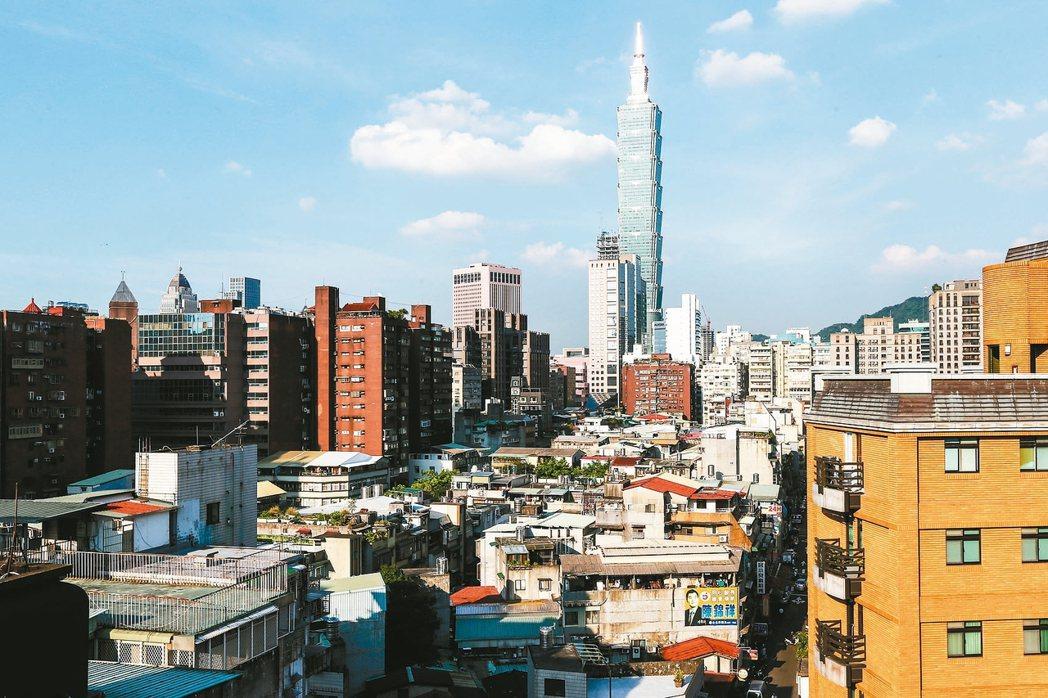 台北市公布最新住宅價格指數,大安、信義、中正區連兩月下跌。 報系資料照