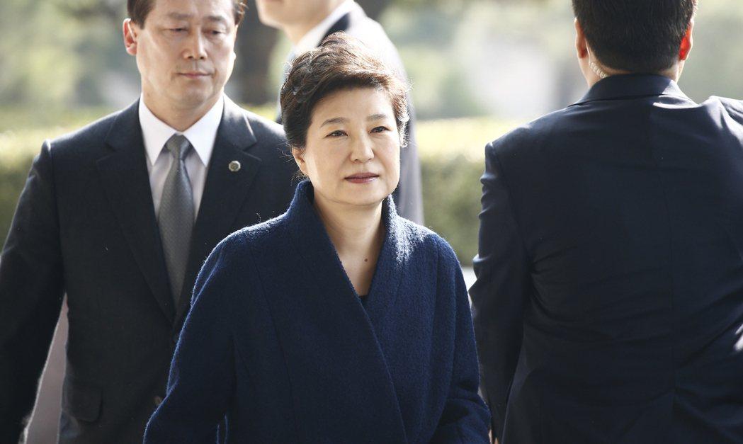 南韓前總統朴槿惠。歐新社