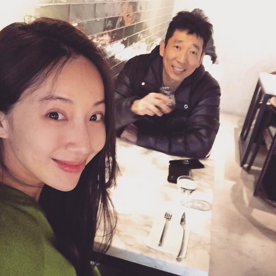 隋棠(左)與老公Tony(右)感情好。 圖/擷自隋棠臉書