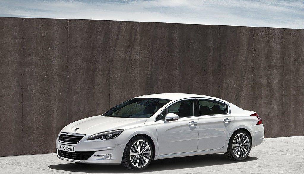 圖為 Peugeot 508。 圖/Peugeot提供