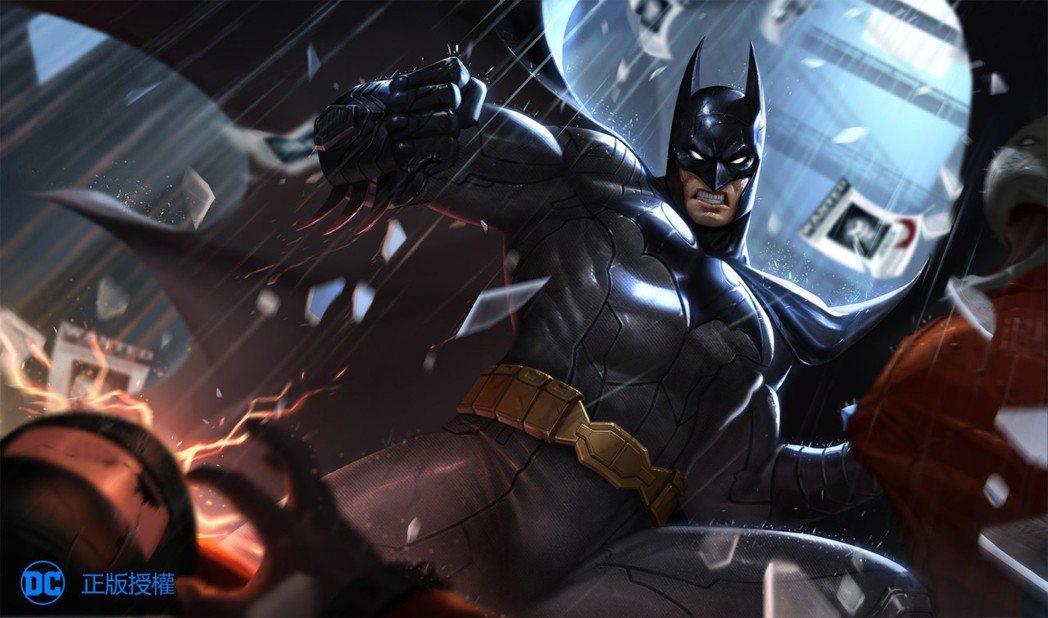 玩家可以在《Garena 傳說對決》中親身體驗「蝙蝠俠」的動作與技能!